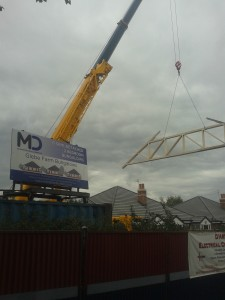 Contract lift to New build Bungalows