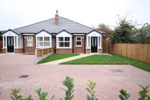 6 New Build Two Bedroom Bungalows